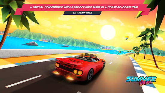 Horizon Chase - Thrilling Arcade Racing Game Unlimited Money