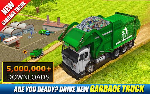 Offroad Garbage Truck: Dump Truck Driving Games 1.1.3 screenshots 1