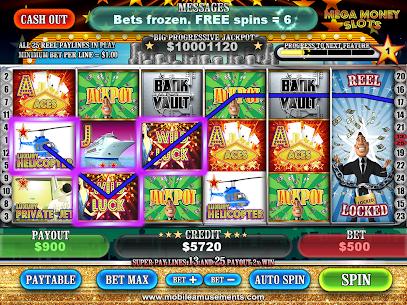 MEGA Money Slots PAID 5