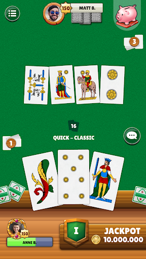 Scopa - Free Italian Card Game Online  screenshots 1