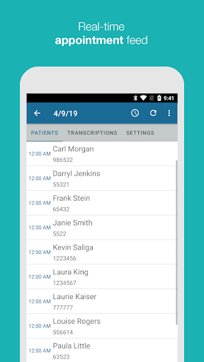 eScription One screenshot for Android