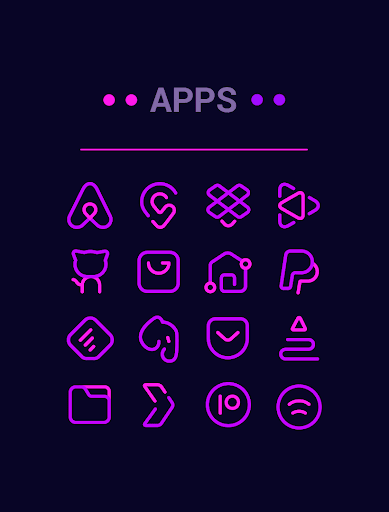 Download APK: Linebit Gaming – Icon Pack v1.2.2 [Patched]