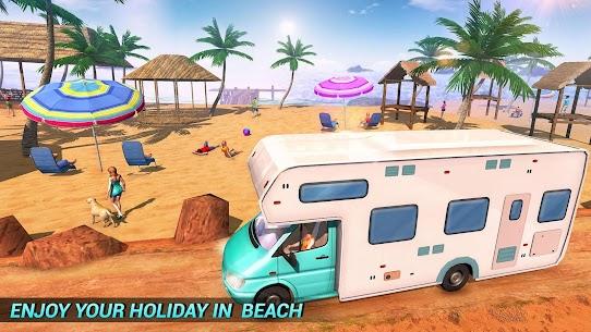 Real Camper Van Driving Simulator – Beach Resort 1.0.7 Mod APK (Unlimited) 1