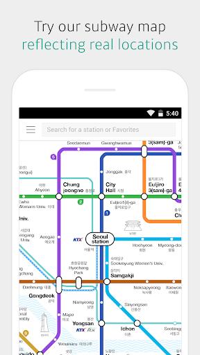 KakaoMetro - Subway Navigation  Screenshots 1