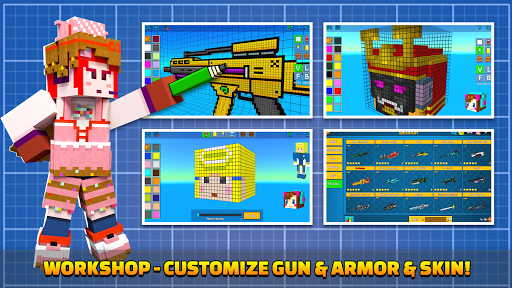Cops N Robbers - 3D Pixel Craft Gun Shooting Games goodtube screenshots 7