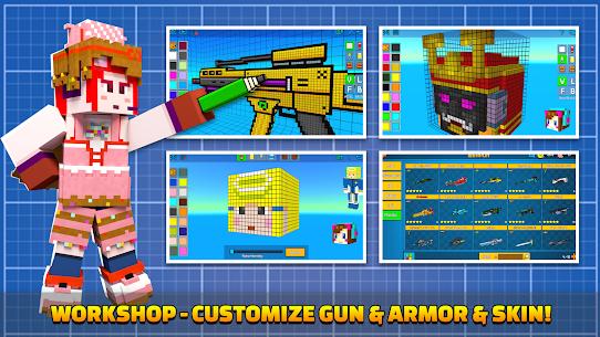 Cops N Robbers – 3D Pixel Craft Gun Shooting Games 7