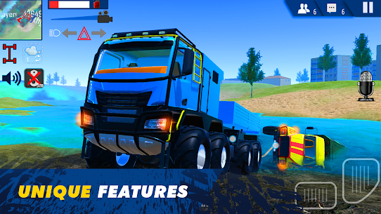 Offroad Simulator Online: 8×8 & 4×4 off road rally 2