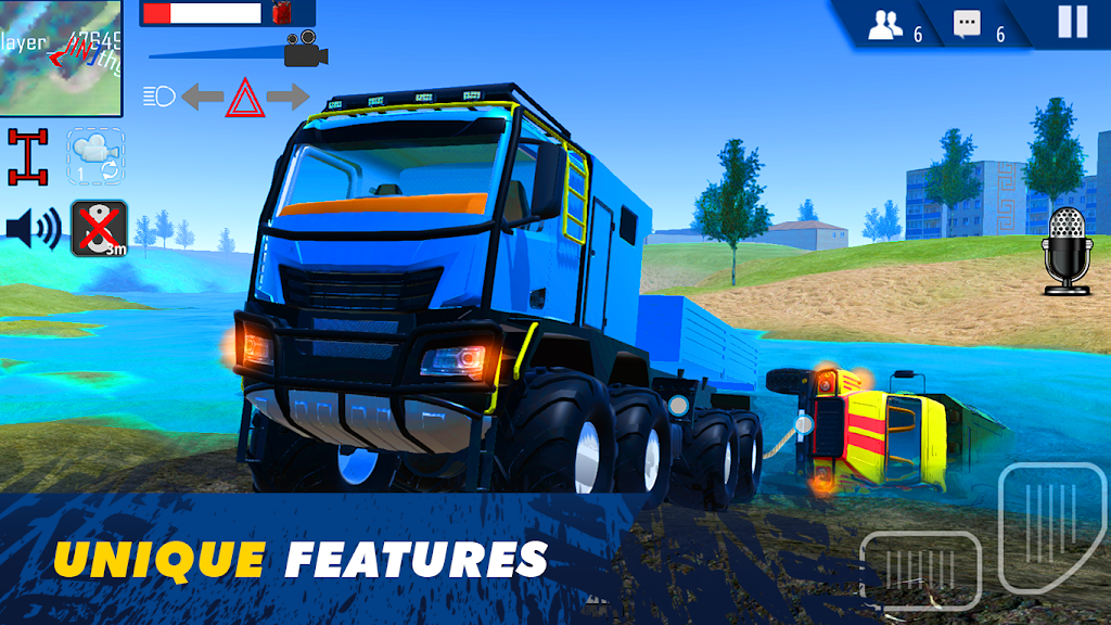 Offroad Simulator Online: 8x8 & 4x4 off road rally  poster 1