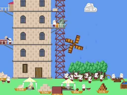 Idle Tower Builder: construction tycoon manager 1.1.9 screenshots 2