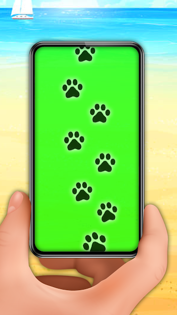 Captura 2 de Footprint invisible paths detector prank para android