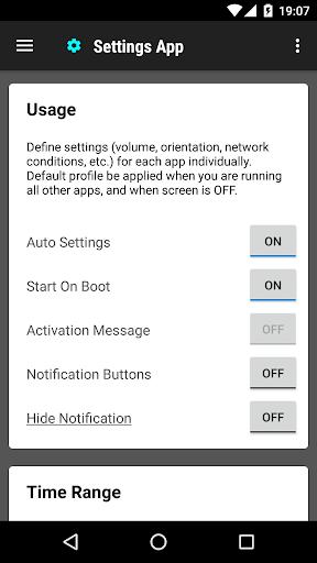 Settings App 1.0.158 Screenshots 1