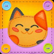 Button Cat: match 3 cute cat puzzle games