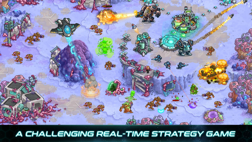 Iron Marines: RTS Offline Real Time Strategy Game  poster 0