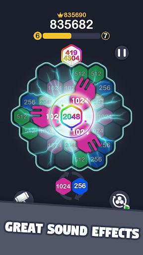 2048 Hexagon Match 1.0.4 screenshots 2