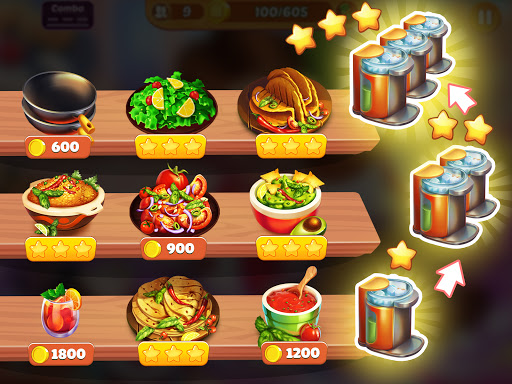Cooking Crush: New Free Cooking Games Madness Apkfinish screenshots 23