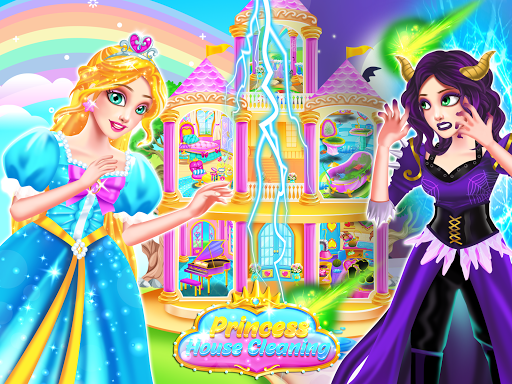 Princess Castle House Cleanup - Cleaning for Girls  screenshots 4