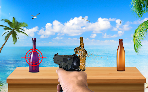 Bottle Shooting Target : Real Bottle Shooter For Android 1