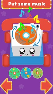 Baby Carphone Toy. Kids game Mod Apk app for Android 3