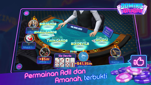 Domino Qiuqiu 3D ZingPlay - Poker QQ 99 Terbaik apkdebit screenshots 3