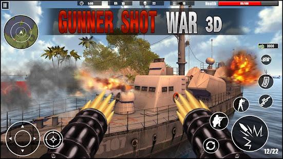 gunner navy war shoot 3d : first-person shooters hack