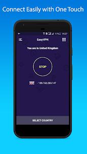 Easy VPN v1.1.4 MOD APK – Free VPN Proxy & Wi-Fi Security 3