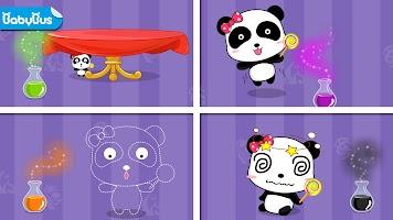 Baby Panda's Color Mixing Studio