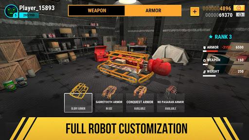 Robot Fighting 2 - Minibots & Steel Warriors 2.6.1 screenshots 2