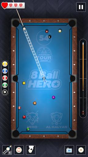 8 Ball Hero - Pool Billiards Puzzle Game  Screenshots 3