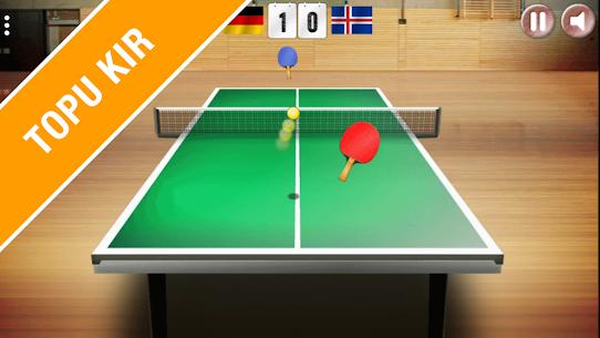 Masa Tenisi 3D – Gerçekçi Ping Pong App Apk Son Sürüm 2021 1