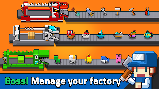 My Factory Tycoon – Idle Game Mod 1.5.0 Apk [Unlimited Money] 1