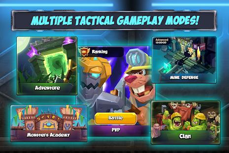 Tactical Monsters Rumble Arena -Tactics & Strategy Mod Apk