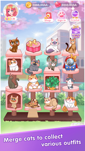 My Cat Diary - Merge Cat & Dress up Princess Games  screenshots 19