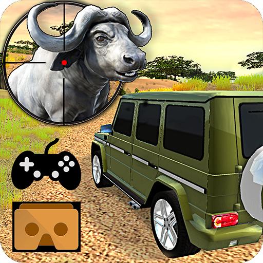 VR Hunting Safari 4x4 Icon