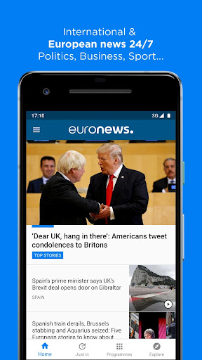 Euronews: Daily breaking world news & Live TV 5.4.2 Screenshots 1