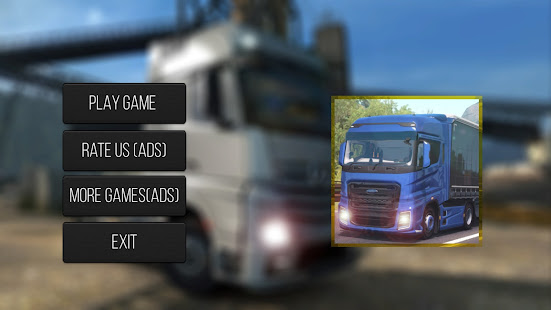 Truck Transport Heavy Load Simulation 2022