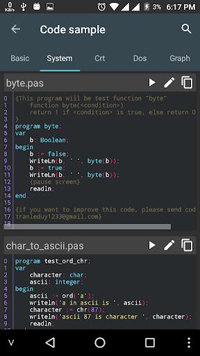 Pascal N-IDE - Editor And Compiler - Programming  Screenshots 6