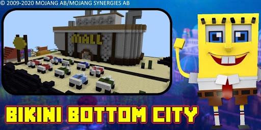 Bikini Bottom City Craft Map 7.0 screenshots 22