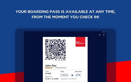 Air France - Airline tickets 5.1.0 Screenshots 13