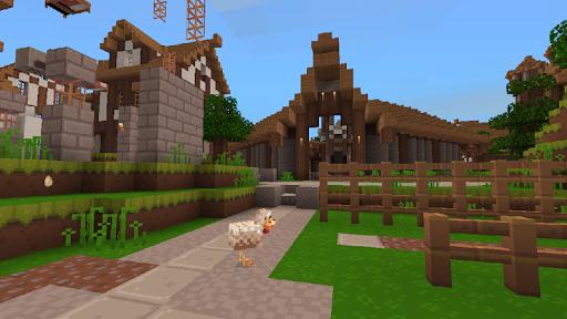 3D Lucky Craft : Crafting House Building Games 5.3.7 Screenshots 3