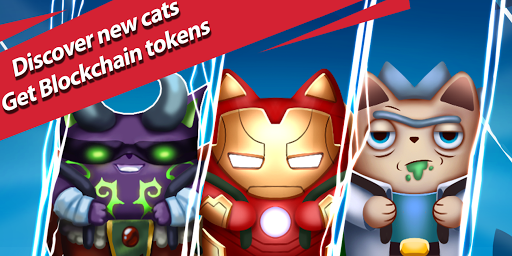 Merge Cats - Crypto Bitcoin Game screenshots 1