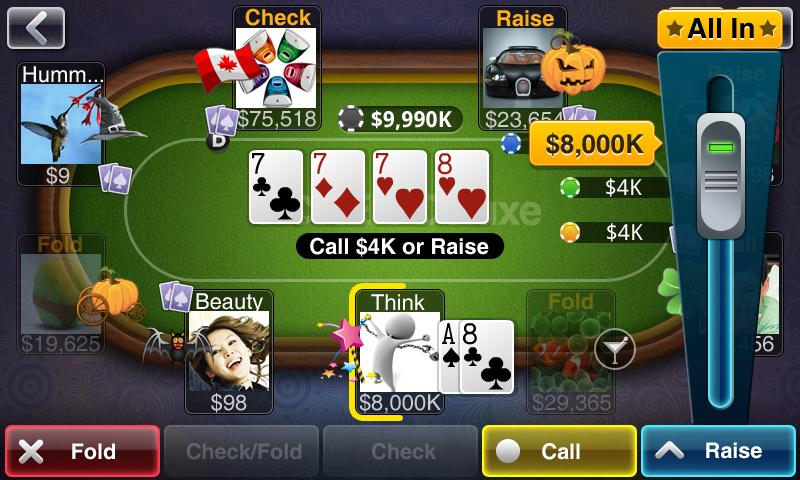 Texas Holdem Poker Deluxe Android Games Appagg