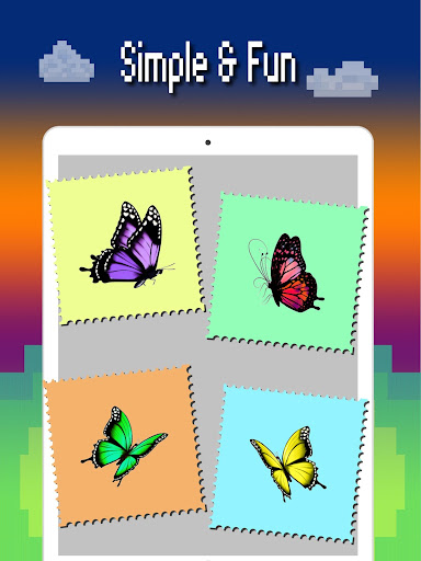 Butterfly color by number : Bugs coloring book 1.4 screenshots 10