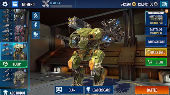 Mech Wars: Multiplayer Robots Battle 3