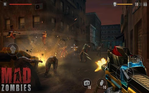 MAD ZOMBIES MOD Apk 5.27.0 (Unlimited Money) 1