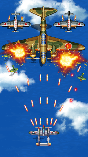 1945 Air Force: Airplane Shooting Games FREE 8.07 Screenshots 3