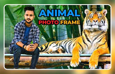 Wild Animal Photo Frame - Animal Photo Editor 1.17 screenshots 1