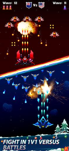 Code Triche Galaxy Attack - Space Shooter 2021 APK Mod screenshots 1