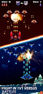 Galaxy Attack – Space Shooter 2020 Ver. 1.6.6 MOD APK | UNLIMITED GOLD | UNLIMITED UPGRADES | NO ADS 5