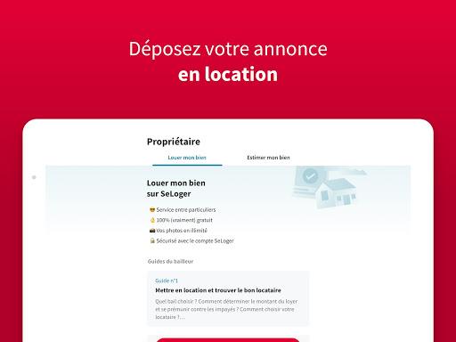 SeLoger - achat, vente et location immobilier apktram screenshots 8