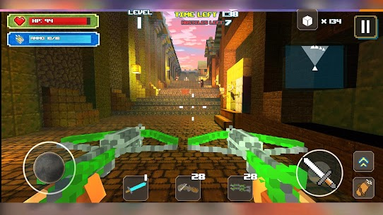 Dungeon Hero Mod Apk: A Survival Games Story (God Mode/Dumb Enemy) 2